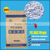 electric appliances usage Modified Plastic virgin grade material flame retardant PC/ABS V0 Granules