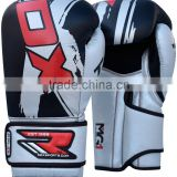RDX Leather Gel Boxing Gloves