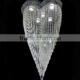 Wedding Centerpieces Crystal Chandelier Hanging Lighting Flush Mount Pendant Lamps Lights Fixtures CZ8057/5