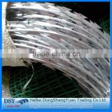 2016 China Alibaba Factory Supply Razor Blade Barbed Wire, Razor Wire For Sale, Fake Razor Wire