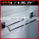 top sell high quality bathroom brass unique bath set double towel bar