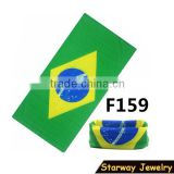 NEW fashion handsome multifunction Brazil football fan scarf/#