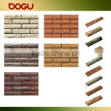 60x240mm moutain shape split ceramic clay brick tile exterior wall facing decorative varied color
