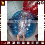 Transparent soccer ball customized color inflatable zorb ball                                                                         Quality Choice