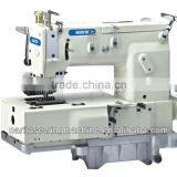 NT-1412P 12-needle flat-bed double chain stitch sewing machine