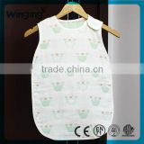 alibaba supplier wholesale comfortable muslin baby sleeping bags,kids cotton sleeping bags