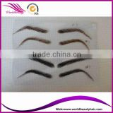 Natural human hair lace eyebrow wig