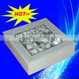 Electrodeless light with ceiling light and wall pack