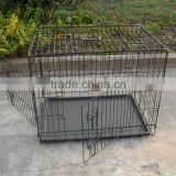china galvanized steel iron wire large double heavy duty strong stainless large dog cage