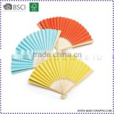 High Quality Decorative Foldable Paper Hand Fan for Promotion Gift                                                                         Quality Choice