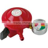 Gas low regulator pressure with gauge meter, flow meter valve & ISO9001-2008