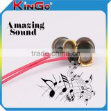 Fashion 3.5mm In-ear Braided Cable Earphone with Braided Wire