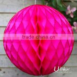 christmas ball decoration Tissue birthday decoration ball wedding honeycomb ball party favors