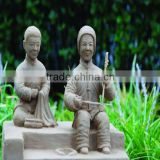 folk art in china/ resin clay statue/ abstract art scuplture