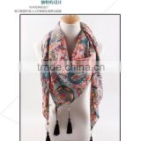 Promotions!Wholesales 2015 fashionable pashmina scarf noble voile scarf with cashmere scarf