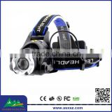 Wholesale OEM A9 Withe Light Led Headlamp,XML T6 LED 1800 lumens 3 Mode 4*AA Battery Rechargeable LED Headlamp