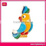 Nice looking good custom animal bird pin badges for gift