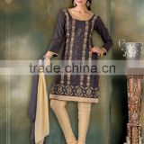 Casual wear ladies fashion salwar kameez Indian ethnic suit(S2033)