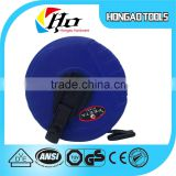 cheapest leather measuring tape,blue color case fiberglass tape measure,steel measure tape