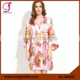 INQUIRY ABOUT FUNG 300202 New Women Floral plus size bathrobes