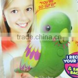 New Arrival Singing & Chirping purple Birds - Realistic Sounds & Movements/ New Pet Toy Perfect Chirping Bird