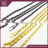 bag hardware handbag accessory chain with lobster clasp wholesale metal chain
