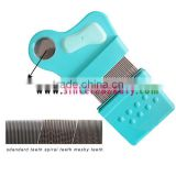 Stainless Steel Teeth Anti Nit and Lice Comb Set for Baby,Lice Comb With Magnifier