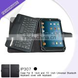 "9"" 10"" tablet leather universal bluetooth keyboard case top selling laptop cover"