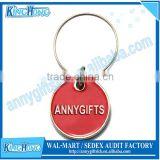 Customized metal wine glass charm accessory maker with own logo design