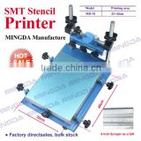 32*44cm MD-M SMT Stencil Printer PCB Screen Printer, Manual Silk Screen Printing Machine