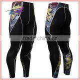 Top Slae Men's Custom Tight Pants/Nylon Lycra Compression Pants/Compression Tights Leggings
