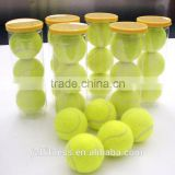 High Quality Yellow Training Tennis Balls 3pcs/barrel For Tennis Beginers Practice Tennis Ball