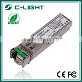 OEM/ODM high performance 1.25G SFP BIDI Tx1550nm/Rx1490nm 80km SMF SFP BIDI, Fiber Optical Transceiver