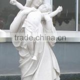 marble christian statue