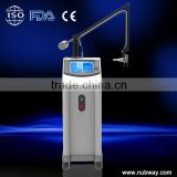 Face Whitening Distributor Price! Professional 10600nm Skin Resurfacing Carboxytherapy Low Cost Co2 Fractional Laser Beauty Machines