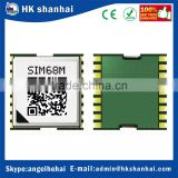 2016 Hot selling low price smallest gps tracking chip module SIMCOM SIM68M support GPS/GLONASS/Galileo/QZSS