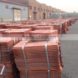 High quality copper cathode on a large scale