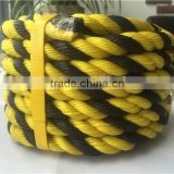 China Factory 3 Strands PP PE Tiger Rope