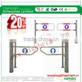 Automatic control board pedestrian swing gates