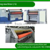 artifical leather hydraulic cow leather fleshing machine 3000mm China best Tannery machine