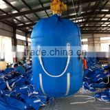 Spout Top Flat Bottom Polypropylene 1 Ton Bulk Bag PET Bag For PVC Material Storage With UV Resistant