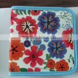 colorful flowers CD/DVD bag case