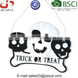 BSCI Audit Factory Halloween occasion and Event & Party Supplies, Halloween felt skull hanger