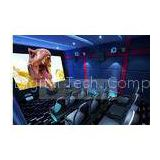 Fashionable 5D Movie Theater For Home Entertainment , 4 people theatre seating system