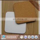 2017 new toyota coaster bus baking mat private label Wood thin cork backing for Coasters