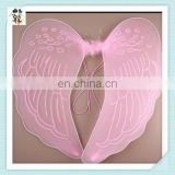 Party Costume Fancy Dress Adult Cheap Glitter Fairy Angel Wings HPC-0843