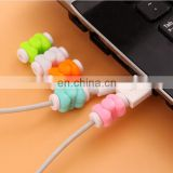 bulk cheap wholesale mini butterfly shaped mobile phone charging line protector