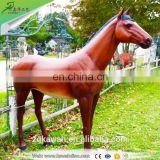 Kawah Realistic Resin Horse Artificial Life-Size Fiberglass Horse Statue For Sale