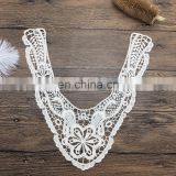 OLN15016 2017 New Neckline Embroidery Collar Lace Design For Ladies Dress