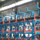 Storage of round steel square steel channel steel Angle steel beams choosing telescopic cantilever racking